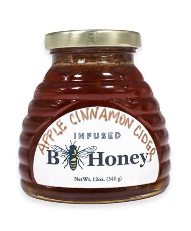 Beeweaver Apple Cinnamon Cider Infused Honey