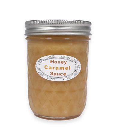 Honey Caramel Sauce 9 oz. Jar