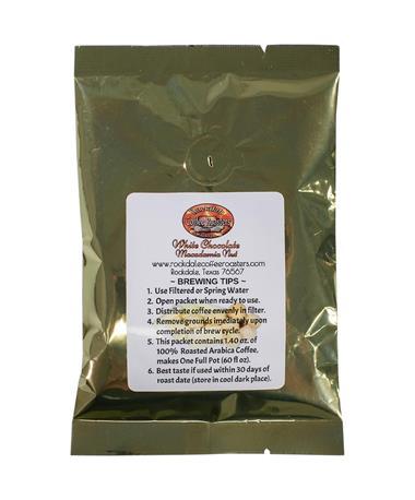 White Chocolate/ Macadamia Coffee 1.4 oz