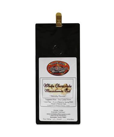 Rockdale White Chocolate Macadamia Nut Coffee 12 oz