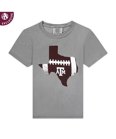 Texas A&M Aggie Football State Youth T-Shirt