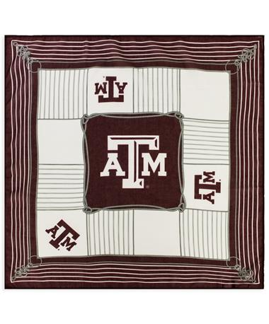 Texas A&M Square Bailey Sheer Scarf