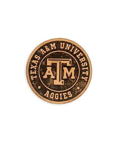 Texas A&M Aggies Wood Magnet