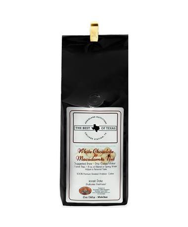 Rockdale White Chocolate Macadamia Nut Coffee  - Whole Beans 12 oz