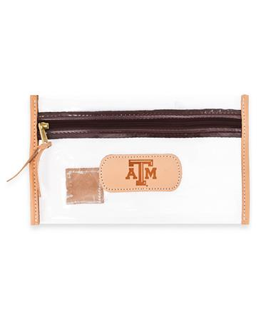 Texas A&M Jon Hart Clear Pouch