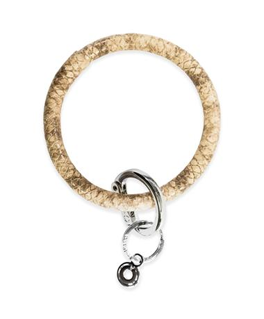 Big O Key Rings Beach Snakeskin