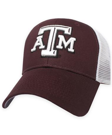 Texas A&M Zephyr Big Rig Mesh Cap