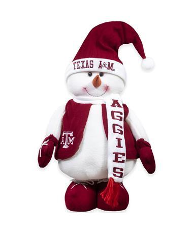 Texas A&M Frosty Mascot Extendable Decor Plush