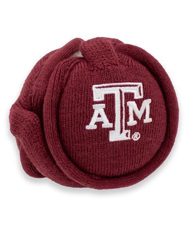 Texas A&M Block ATM Ear Muffs