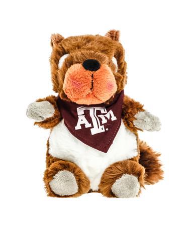 Texas A&M Bandana Cheeky Squad Squirrel Stuffed Animal