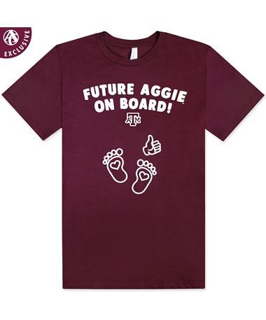 Texas A&M Future Aggie Maternity T-Shirt