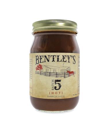 Bentley's Batch 5 Hot BBQ Sauce