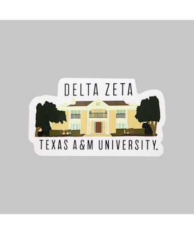 Texas A&M Delta Zeta Dizzler Sticker