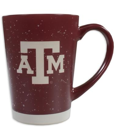 Texas A&M Earthstone Etched Mug