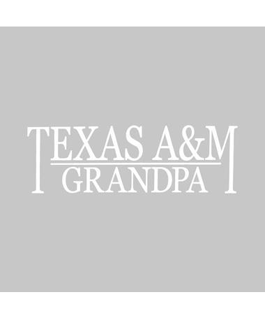 Texas A&M Grandpa Vinyl Decal