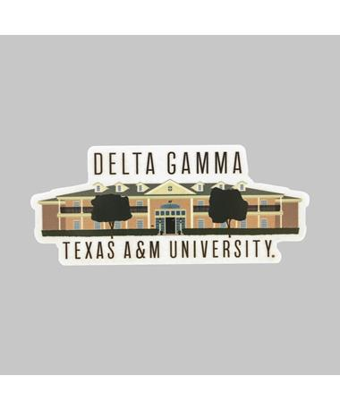 Texas A&M Delta Gamma Dizzler Sticker