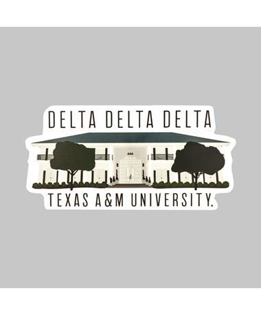 Texas A&M Delta Delta Delta Dizzler Sticker