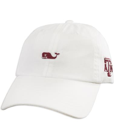 Texas A&M Vineyard Vines White Baseball Hat