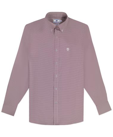 Texas A&M Southern Tide Gameday Gingham Long Sleeve Button Down