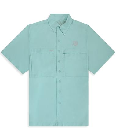 Texas A&M GameGuard Seaglass Men's MicroFiber Shirt