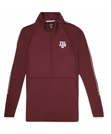 Texas A&M Woman's Cutter & Buck Pennant Sport Half Zip