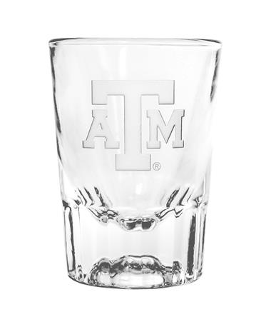 Texas A&M Etched Shot Glass