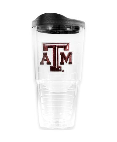 Texas A&M 24oz. Plastic Tervis Tumbler