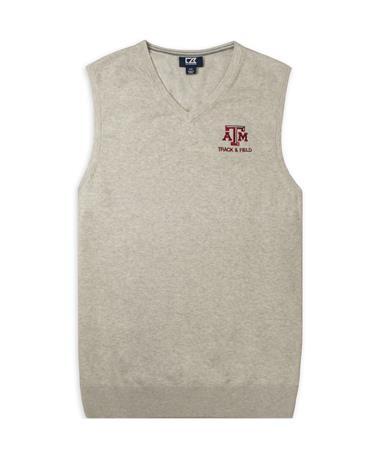 Texas A&M Cutter & Buck Lakemont Track & Field Vest