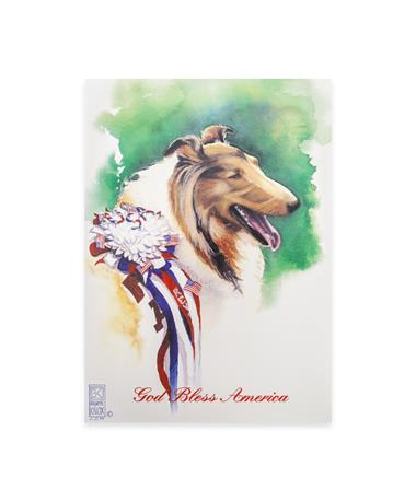 Benjamin Knox Patriotic Reveille Single Note Card