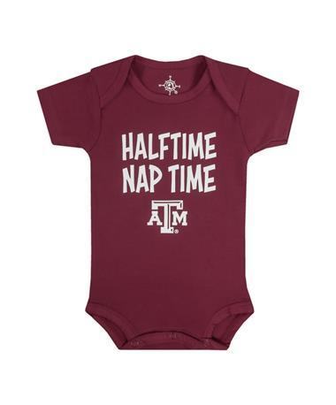 Texas A&M Halftime Nap Time Onesie