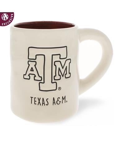 Texas A&M Jumbo Block ATM Mug