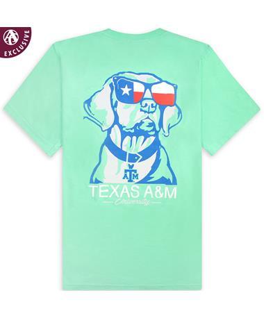 Texas A&M Chillin' Texas Dog Pocket T-Shirt