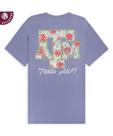 Texas A&M Aggies Floral Feeling Good T-Shirt