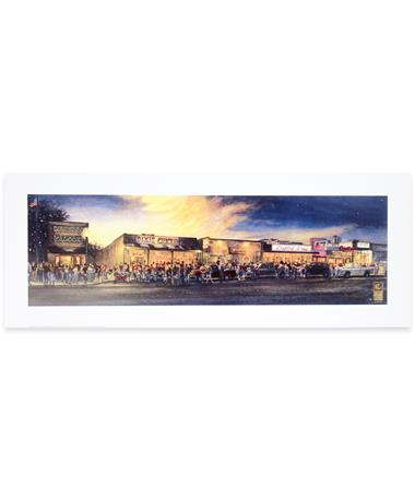 Benjamin Knox Watercolor Northgate Print