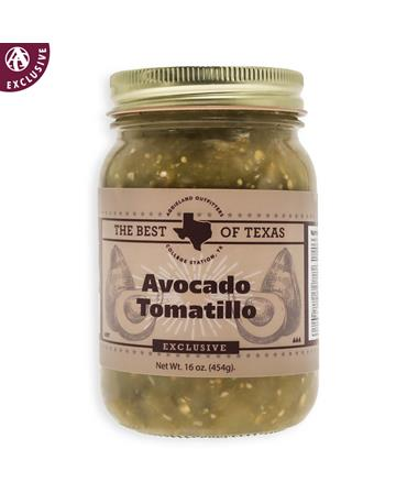 The Best of Texas Avocado Tomatillo Salsa