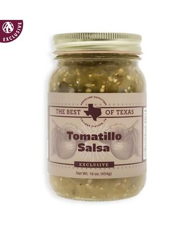 The Best of Texas Tomatillo Salsa