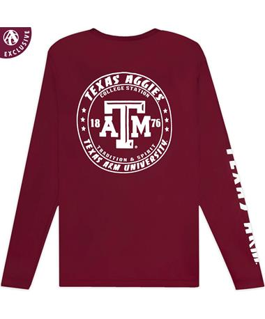 Texas A&M Aggies Classic Spin Performance Long Sleeve