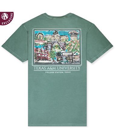 Texas A&M Aggieland Portrait T-Shirt