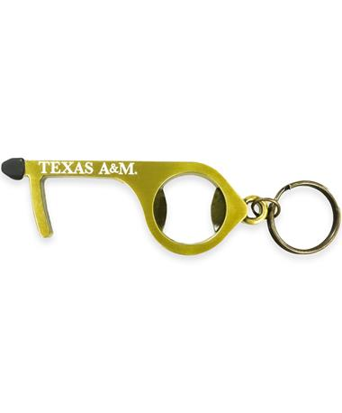 Texas A&M No-Touch Keychain