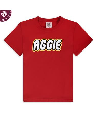 Texas A&M Plastic Bricks Youth T-Shirt