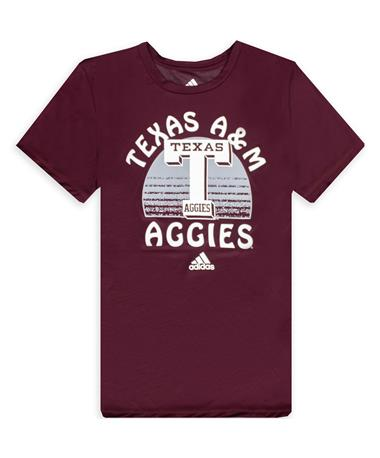 Texas A&M Adidas Gradiation Day Youth Tee