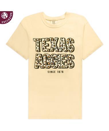 Texas A&M Aggies Leopard T-Shirt