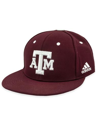 Texas A&M Adidas Fitted 2021 On-Field Baseball Cap