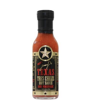 Jimmy O's Tres Chilis Hot Sauce