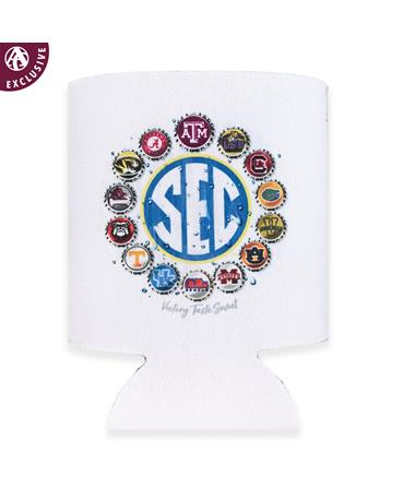 SEC Bottle Cap Koozie