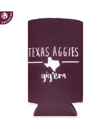 Texas Aggies Stix Slim Koozie