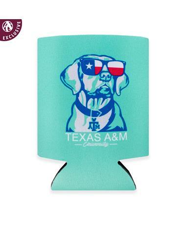 Texas A&M Chillin' Texas Dog Koozie