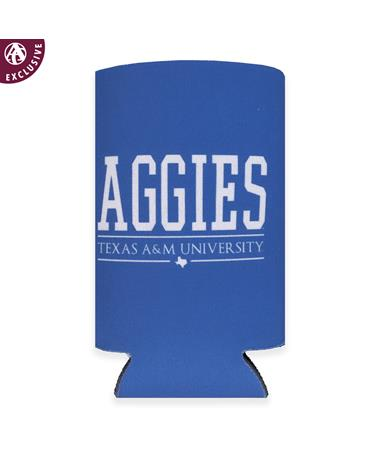 Texas A&M Aggies All Caps Slim Koozie