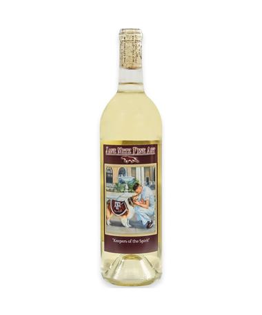 "IN STORE PICKUP OR LOCAL DELIVERY ONLY: Jane Metz Fine Arts ""Keepers of the Spirit"" White Wine"