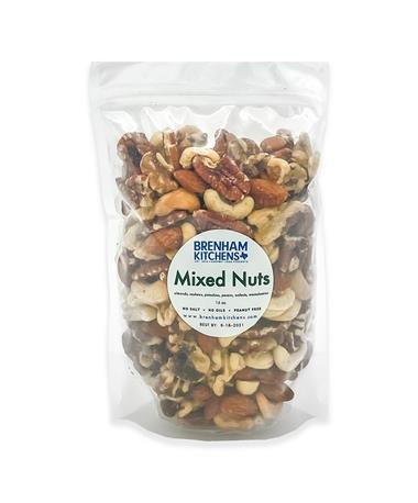 Brenham Kitchens 16oz. Salt-Free Mixed Nuts
